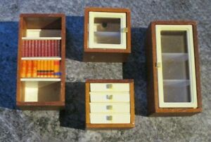 vintage - 16th scale - LUNDBY - LIDO MODULAR UNITS X 4 - Hard to find