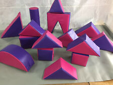 PINK / PURPLE  15 Piece Soft Play Set in a Bag FREE POST