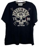 Thor Steinar Nordic Company Mens Black XL Short Sleeve Tshirt