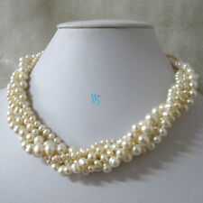 """8"""" 16"""" 18"""" 20"""" 5Row Freshwater Pearl Bracelet——MORE COLORS"""