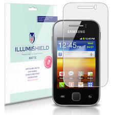 iLLumiShield Anti-Glare Matte Screen Protector 3x for Samsung Galaxy Y (S5360)