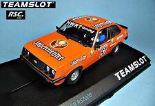 TEAM SLOT 1:32 FORD ESCORT MKII RS 2000 JAGERMEISTER / KETTERER AUERBERG 1981