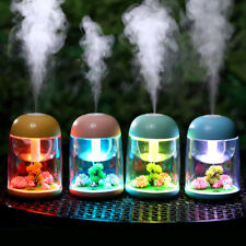 LED Micro Landscape Ultrasonic Humidifier Essential Oil Aroma Diffuser Purifier