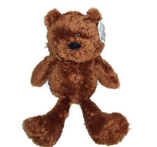 "NWT 18"" Animal Alley Tagalong Teddy Bear Dark Brown Stuffed Animal Toys R Us NEW"