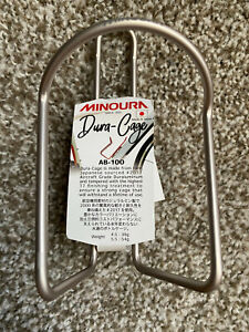 Minoura Japan Dura-Cage Silver AB 100 100-5.5 BT TI NEW