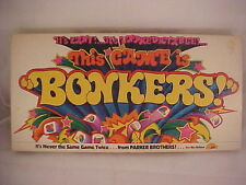 Vintage 1978 Bonkers Game No. 51  by Parker Brothers.It's Zany!! - Complete