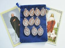 Wholesale Lot 10 New St. Peregrine Medals, Patron Saint Of Cancer Healing
