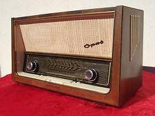 RADIO RECEIVER TELEFUNKEN SUPER OPUS 8 HI-FI WEST GERMANY 1957 AMPLIFIER EL84