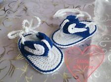 Meer Baby Sandalen Handarbeit Marine Boot Baumwolle Babyschuhe Gehäkelte Schuhe