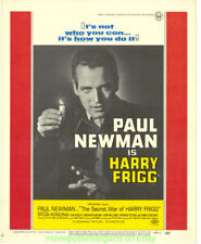 SECRET WAR OF HARRY FRIGG MOVIE POSTER PAUL NEWMAN Window Card Size 14x22  Inch