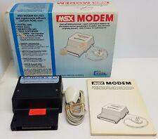 MT Telecom II MSX / MSX 2 Modem [Boxed] Tested & Working. Manual. Vintage