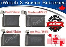 Apple Watch iWatch Series 3  38mm / 42mm Li-on Rechargeable Replacement Battery