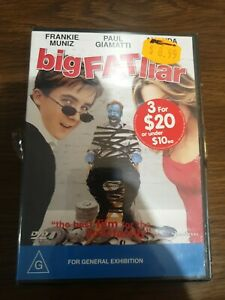 Big Fat Liar DVD Region 4 NEW sealed free post see my other listings