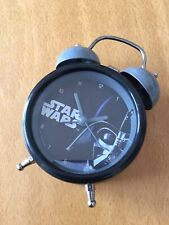 Cool! Star Wars Collectible Twin Bell Alarm Clock Light Battery Operated