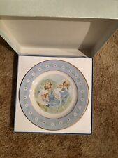 Avon Tenderness Commemorative Plate In Original Box 1974