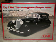 ICM 1/35 Scale German Typ 770K Tourenwagen With Open Cover - Factory Sealed