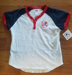 NY Yankees Derrick Jeter Jersey Girls Size L New York