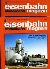 Eisenbahn Magazin Modellbahn --1991--Ausgabe 3+4 -- 2 Stück -