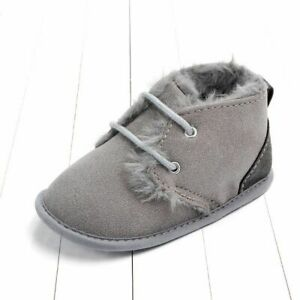 Toddler Boots Indoor Winter First Walker Shoes Newborn Baby Boy Girls Footwear