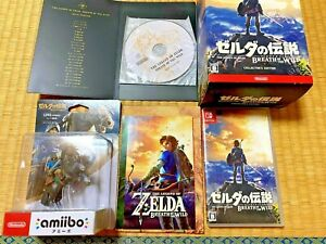 Nintendo Switch LEGEND OF ZELDA Breath of the Wild Limited Edition Japan Import