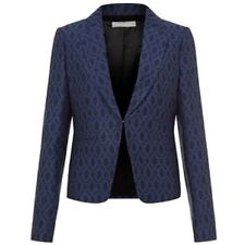 FENN WRIGHT MANSON Sophia Blue Jacket Gorgeous smart office BNWT 14 RRP £200