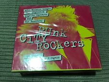 V/A PUNK CITY ROCKERS CD X 4 BOXED SET SEALED ADICTS EXPLOITED 999 BLITZ GONADS