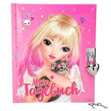 Depesche 10193 TOPModel Tagebuch mit Schloss pink Louise & Katze Tiger