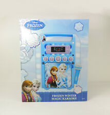 Disney Frozen Winter Magic Karaoke Machine Toy Music Sing Anna Elsa