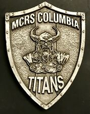 "USMC Marine Corps 235th Birthday MCRS Columbia Titans Challenge Coin - 2"" x 1.6"""