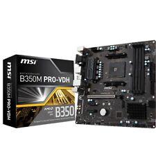 MSI B350M PRO-VDH Mainboard (Mikro-ATX, AMD, SATA 6,0Gbit/s, M.2)
