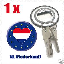 Décapsuleur porte clef Drapeau Europa  Flag NL-(Nederland)