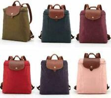 Authentic Longchamp 1699 Le Pliage Backpack Nylon Adjustable Straps Be015