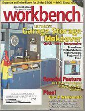 Workbench Magazine - My Home My Style - December 2007 - Garage Storage Makeover