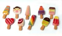 Fève de collection au choix _ de la série LES SORBETS POP _ Objet vitrine