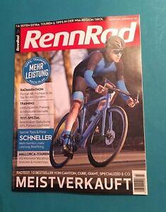 RENNRAD 3/2018 Meistverkauft Touren & Tipps  ungelesen 1A  absolut TOP