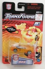 Hasbro Transformers Robots in Disguise RID Spychanger R.E.V Clear Yellow Recolor