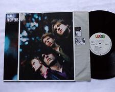 FATAL FLOWERS Youger days GERMANY Orig LP WEA 242 045-1 (1986) NMINT