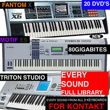 Triple KEYBOARD NKI Samples Presets FOR NI KONTAKT 4 5 6 X es STUDIO Plus More