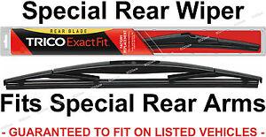 TRICO 12-B Rear Wiper Blade for RocLock 3 Rear Wiper Arm SUV Wagon Crossover 12B