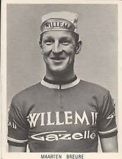 MAARTEN BREURE Wielrennen Cyclisme 60s WILLEM II Gazelle Ciclismo Cycling vélo