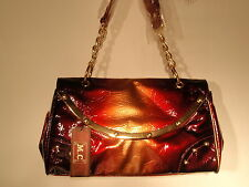 Marc Chantal M C purse handbag Burgandy NWT FAST FREE SHIPPING