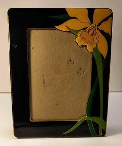 Vintage Enamel Picture Frame 5x7