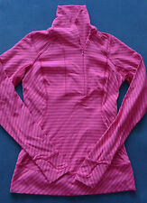 LULULEMON Cranberry THINK FAST PULLOVER 6 Boom Juice Stripe RULU Run SOLD OUT