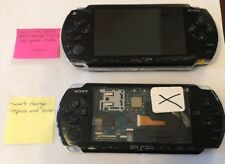 Lot Of 2 - Sony PSP Systems 1000 & 3000 (Defective) Won't Read Games