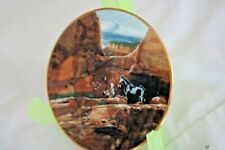 New ListingCollectibles Mini Plate *Bradford Editions *Wolf Pack Of The Ancients*1995 New