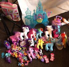 Huge Job Lot Bundle My Little Pony & Castle Children's Toy Toys Girls Xmas Gift