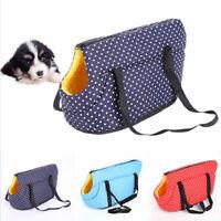 Pet Puppy Dog Mesh Sling Bag Carry Cat Backpack Carrier Travel Tote Shoulder Bag