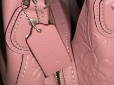 COACH Edie Shoulder Bag 31 Glovetanned Leather With Tea Rose Tooling Dusty Rose.