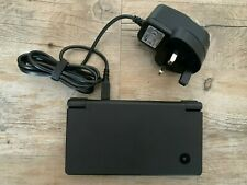 Nintendo DSi Handheld Console (Black) with Power Supply