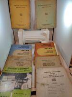 Vintage Lot Allen Automotive Testing and Servicing Equipment Manuals 1960s (K1)